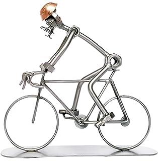 Libra Solo Cyclist Sculpture Bronze