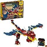Lego 6288725 Lego Creator Lego Creator 3In1 Vuurdraak 31102 Bouwset. Cool Speelgoed Om Zelf Te Bouwen Voor Kinderen Die Houde