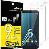 NEW'C Vetro Temperato Compatibile con Samsung Galaxy A6 (SM-A600F), Pellicola Prottetiva Anti Graffio, Anti-Impronte, Durezza