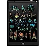PINKCAT LCD Schreibtafel, 12 Zoll Bunte Bildschirm Schreibtablett, löschbarem Handschrift Block, Wiederholtes Schreiben Und Z