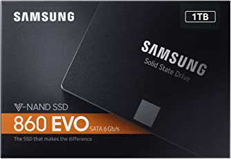Samsung 860 EVO 1TB 2.5-inch SATA III Internal SSD (MZ-76E1T0B/AM)