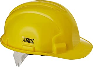 Aktion H 01 Aarvee Safety Helmet, Yellow, Pack of 1