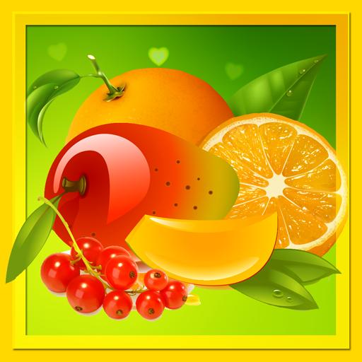 Früchte Malbuch
