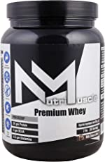 NutriMuscle Premium Whey Protein - Milk Choco-latte - 2 lbs- 30 Servings with Added Digestive Enzymes
