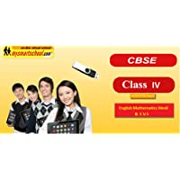 Class Fourth (IV th) CBSE NCERT USB Pendrive Course (Engilsh Maths Hindi Evs) with FUN Songs Plenty of FUNSHEETS All Lessons are Interactive Multimedia Video Lessons with multiple Questions on the basis of CBSE Evaluation Blue Print