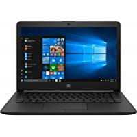HP 14 Intel Core Pentium Gold Processor 14-inch Thin and Light Laptop (4GB/256GB SSD/Windows 10 Home/Jet Black/1.47 kg…