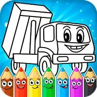 Peinture des voitures pour enfants