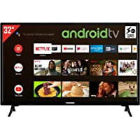 Telefunken XH32AJ600V 32 Zoll Fernseher / Android TV (HD ready, HDR10, Triple-Tuner, 12 Volt, Android Smart TV, Play…