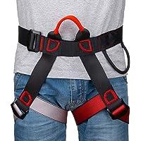 Linkax Imbracatura da Arrampicata a metà Corpo,Cintura di Sicurezza per Arrampicata su Roccia Regolabile Multiuso a per…