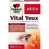 Doppelherz – Vital Yeux – Complément alimentaire vision et santé des yeux – Lutéine & Zéaxanthine + Vitamines et Zinc – Pour