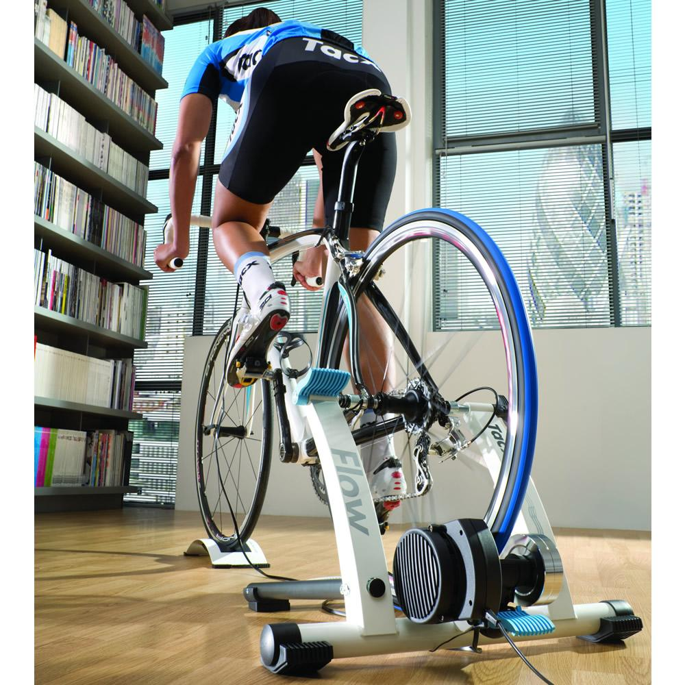 Tacx Flow Computer Trainer With Skyliner Support: Amazon