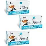 Salve Acnethro Anti Acne Soap with allantoin Vitamin E Aloe Vera (Pack of 3)