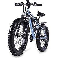VOZCVOX MX02S E-Bike,Elektrofahrräder 26 Zoll,E-MTB, Mountainbike 48V 17Ah 21-Gang Shimano