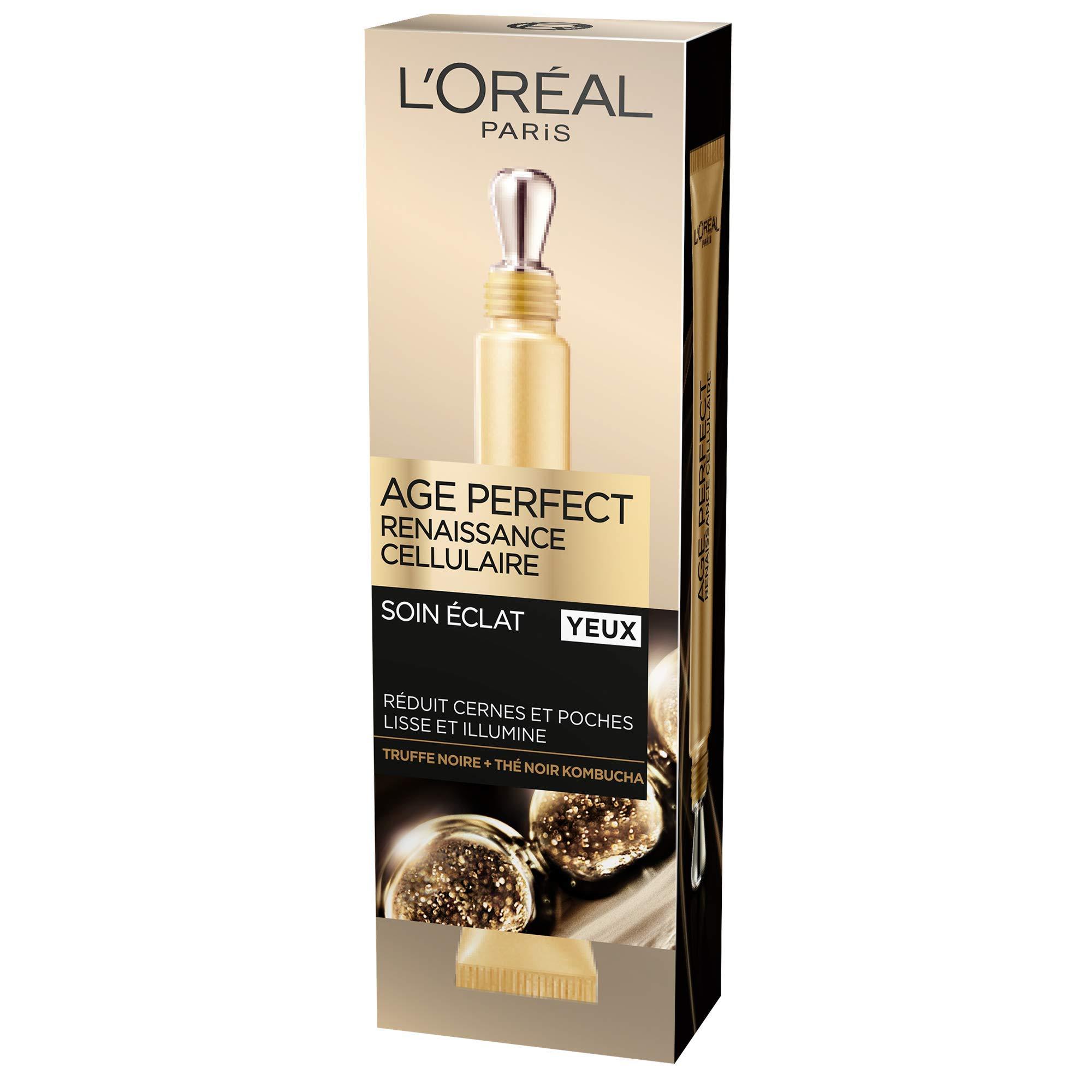 L'Oréal Paris – Age Perfect – Renaissance Cellulaire – Soin Yeux – Anti-Relâchement & Vitalité – Peaux Matures – 15 mL