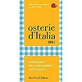 Osterie d'Italia 2021: Sussidiario del mangiarbere all'italiana