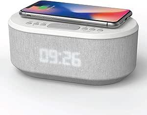 Aic Radiowecker Designer Uhrenradio Usb Bluetooth Elektronik