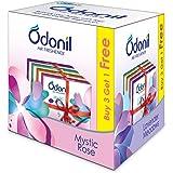 Odonil Bathroom Air Freshener Blocks , Mixed Fragrances - 50gm ( Buy 3 Get 1 free)