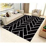 Carpet Soft Modern Minimalist Rectangular Mat Bedroom Carpet Living Room Decoration Non-slip Carpet