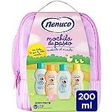 Nenuco Mochila Rosa Eau de cologne + flytande tvål + schampo + fuktgivande mjölk – 1 förpackning
