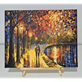 Malset with Wood Frame 100x40 Canvas Adults Painting Kit DIY n-A-0470-d-a