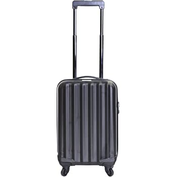 Karabar Monaco ABS Carry On Hard Suitcase 54 cm 2.2 kg 31 litres 4 Wheels Black