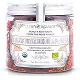Alteya Organic Infusión de Caléndula 40 gr - Flores de caléndula secas orgánicas 100% puras con certificado del USDA recogida