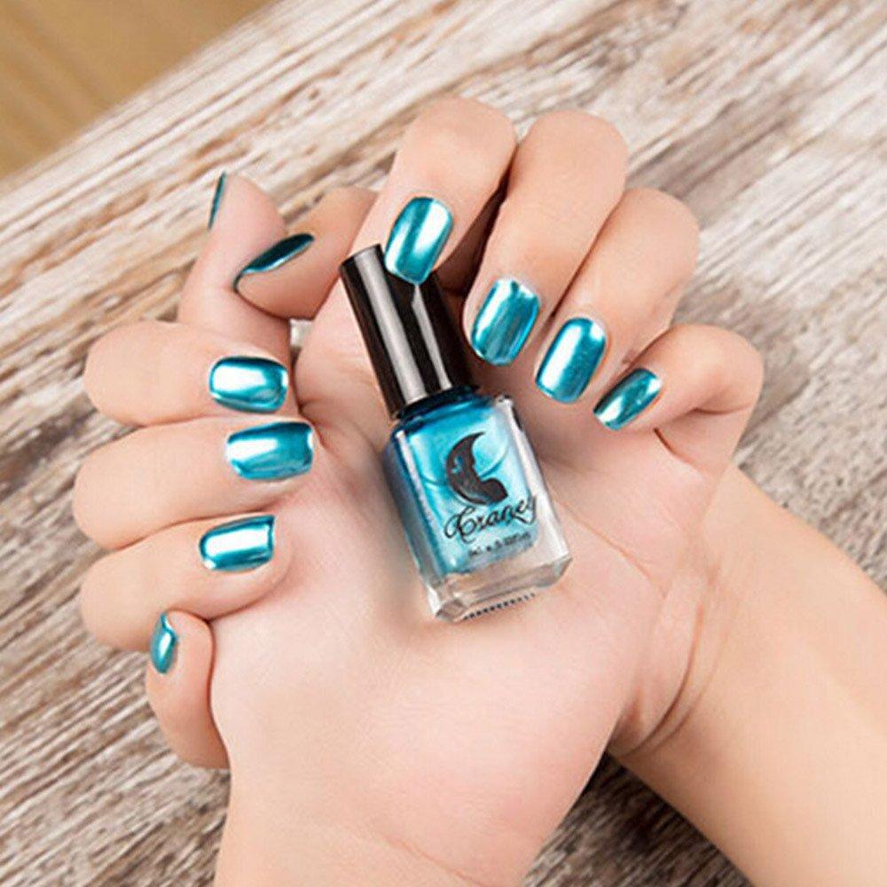 Goosun Esmaltes De Uñas Efecto Espejo Color Metálico Pintauñas Para Manicura Y Pedicura Nail Polish Esmaltes Permanentes Para Uñas Nail Art Soak