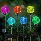 Lampe Solaire Jardin, kit de 6 Paquets de Lumière OxyLED pour Globe Solaire, éclairage de Jardin à LED à Couleurs Changeantes