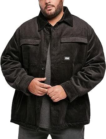 Urban Classics Men's Corduroy Shirt Jacket Women