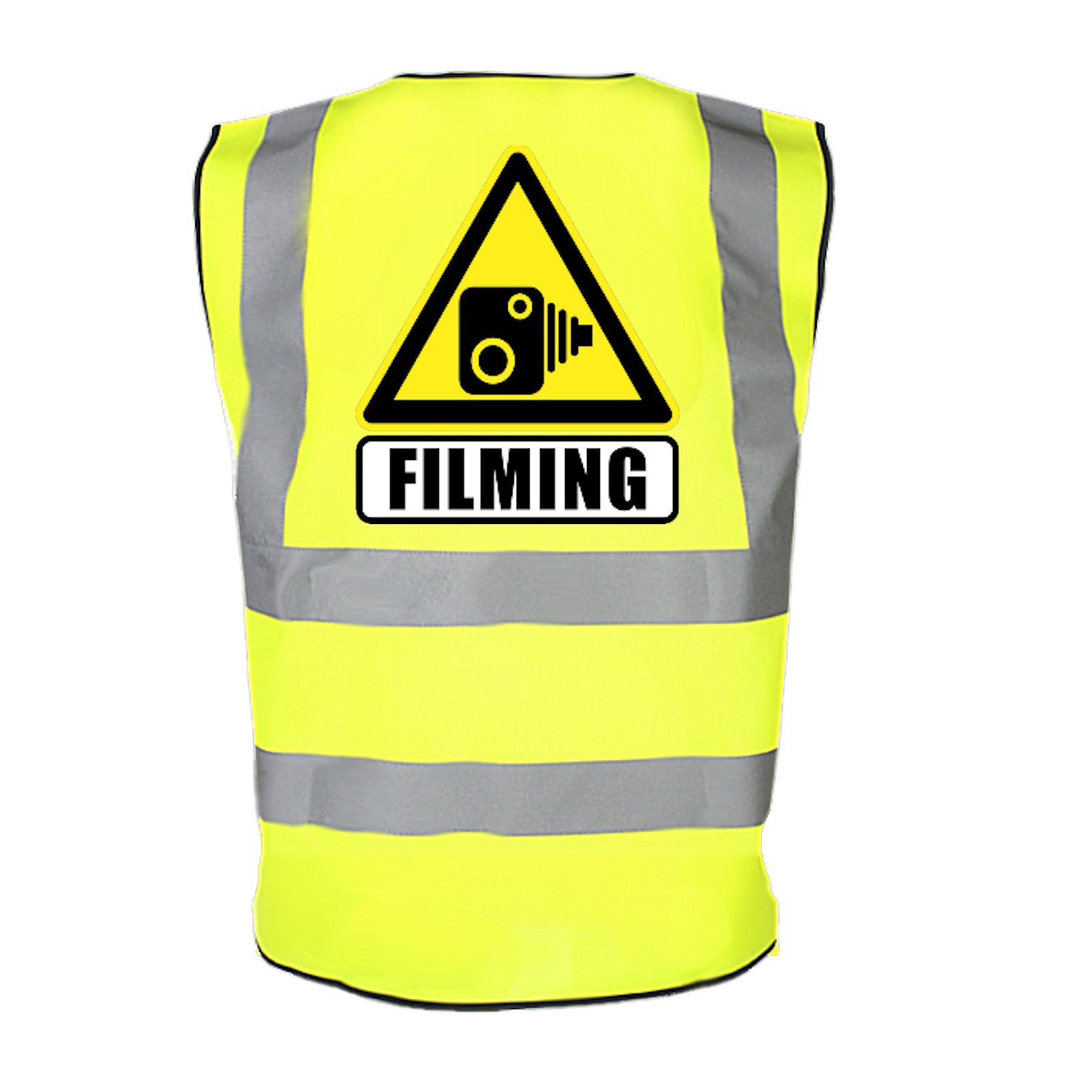 ciclisti camera riprese ad alta visibilit� di sicurezza catarifrangente avvertimento di pericolo dri