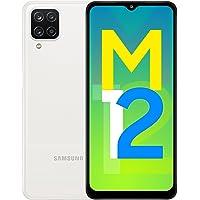 Samsung Galaxy M12 (White,4GB RAM, 64GB Storage) 6000 mAh with 8nm Processor | True 48 MP Quad Camera | 90Hz Refresh…