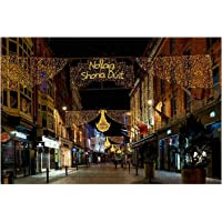 1000 Pieces-Grafton Street in Dublin Wooden Jigsaw Puzzle DIY Children Educational Puzzles Adult Decompression Gift…