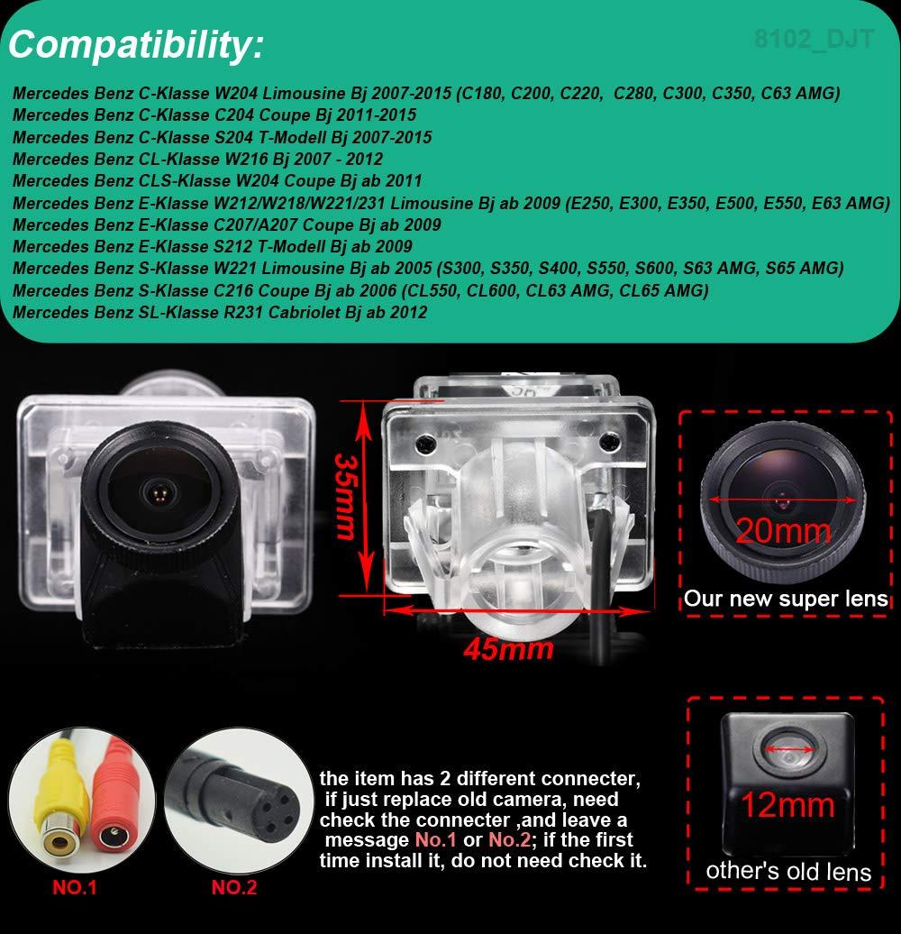 HD-20mm-Objektivkamera-Rckfahrkamera-Farbkamera-Einparkkamera-Nachtsicht-Rckfahrsystem-Einparkhilfe-Wasserdicht-fr-Mercedes-Benz-W204-C204-S204-W216-W212W218W221231C207A207-S212-W221-C216-R231