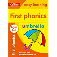 First Phonics Ages 3-4: Collins Easy Learning: Ideal for home learning (Collins Easy Learning Preschool)
