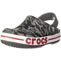 crocs Boy's Slate Grey Boots UK (34.5 EU) (3 Kids US) (206178-0DA)