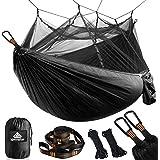 NATUREFUN Hamac Ultra-léger de Voyage Camping | 300 kg Capacité de Charge,(275 x 140 cm) Respirante, Nylon à Parachute à séch