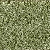 Teppichboden Auslegware Meterware Velour meliert grün 400 cm und 500 cm breit, verschiedene Längen