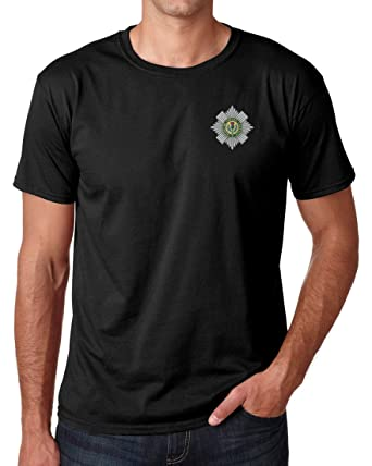 Scots Guards embroidered logo t-shirt