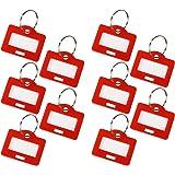 HMF 180003-10 x Schlüsselanhänger, rot