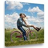 Lienzo Personalizado con Foto y(o) Texto. Personalizalo Online. Impreso en Calidad fotográfica. Lienzo Tejido (300g) Tamaño 2