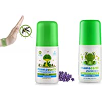 Mamaearth Natural Anti Mosquito Body Roll On, 40ml & After Bite Roll On for Rashes & Mosquito Bites with Lavander & Witchhazel, 40ml Combo