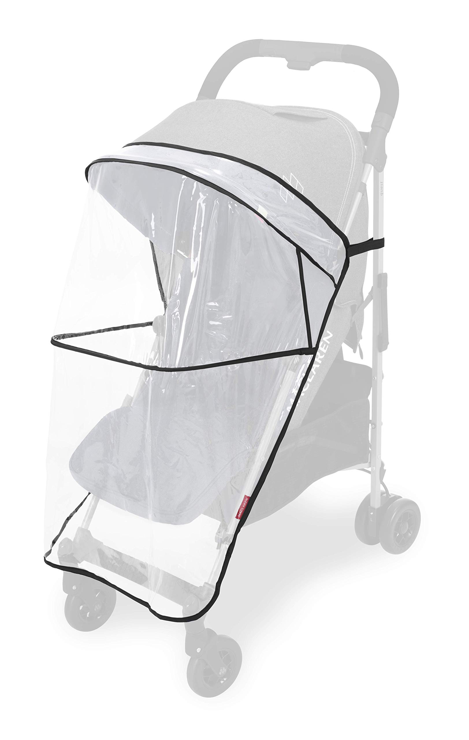 Maclaren Quest Arc Stroller- Ideal for Newborns up to 25kg with extendable UPF 50+/Waterproof Hood, Multi-Position seat and 4-Wheel Suspension. Maclaren Carrycot Compatible. Accessories in The Box Maclaren Lightweight and compact. ideal for newborns and children up to 25kg. you can do it all with one-hand- open, close, push and adjust the seat, footrest and front safety lock Comfy and perfect for travel. the quest arc's padded seat reclines into 4 positions and converts into a new-born safety system. coupled with ultra light flat-free eva tires and all wheel suspension Smart product for active parents. compatible with the maclaren carrycot. all maclaren strollers have waterproof/ upf 50+ hoods to protect from the elements and machine washable seats to keep tidy 14