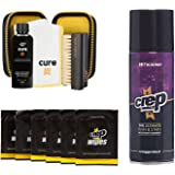 Crep Protect Cure Kit, Ultimate Rain and Stain Shoe Spray and 6 Wipes