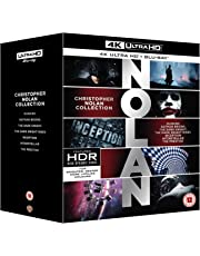 Nolan 4K Collection [Blu-ray] [2018] UK IMPORT