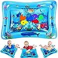 Vatos watermat voor baby's, babyspeelgoed voor de leeftijd 3-6-9 maanden, de babywatermat is perfect sensorisch speelgoed voo