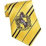 Funidelia | Cravatta Tassorosso Harry Potter Ufficiale per Donna e Uomo ▶ Hogwarts, Maghi, Films & Series - Giallo, Accessori