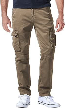 Matchstick Men's Casual Cargo Trousers #6531