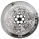 Cardano Coin (ADA) Cryptocurrency Physical (Silver). The Collector's Item for all Crypto Fans. Silver Medal including Coin Ca