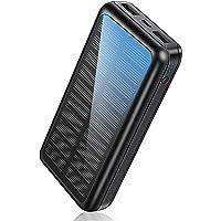 Soluser Power Bank 30000mAh Schnelles Aufladen Tragbares Ladegerät mit USB-C Eingang, Externer Akku mit Automatische…