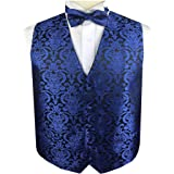Men's Dress/Bridal Tuxedos Microfiber Paisley Waistcoat Set